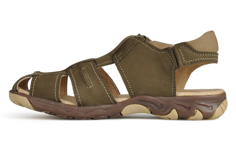 Sandali e scarpe aperte Giesswein Boyzi Verde immagine frontale