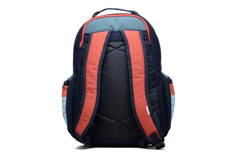 Rucksacks Quiksilver Schoolie M Backpack Multicolor front view