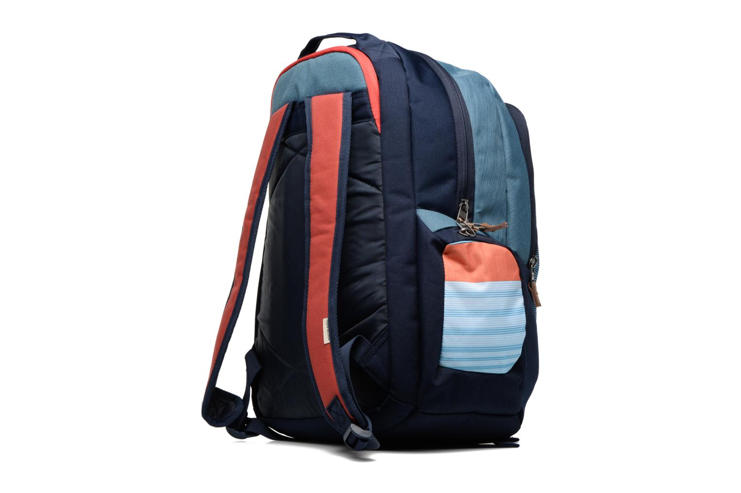 Rucksacks Quiksilver Schoolie M Backpack Multicolor view from the right