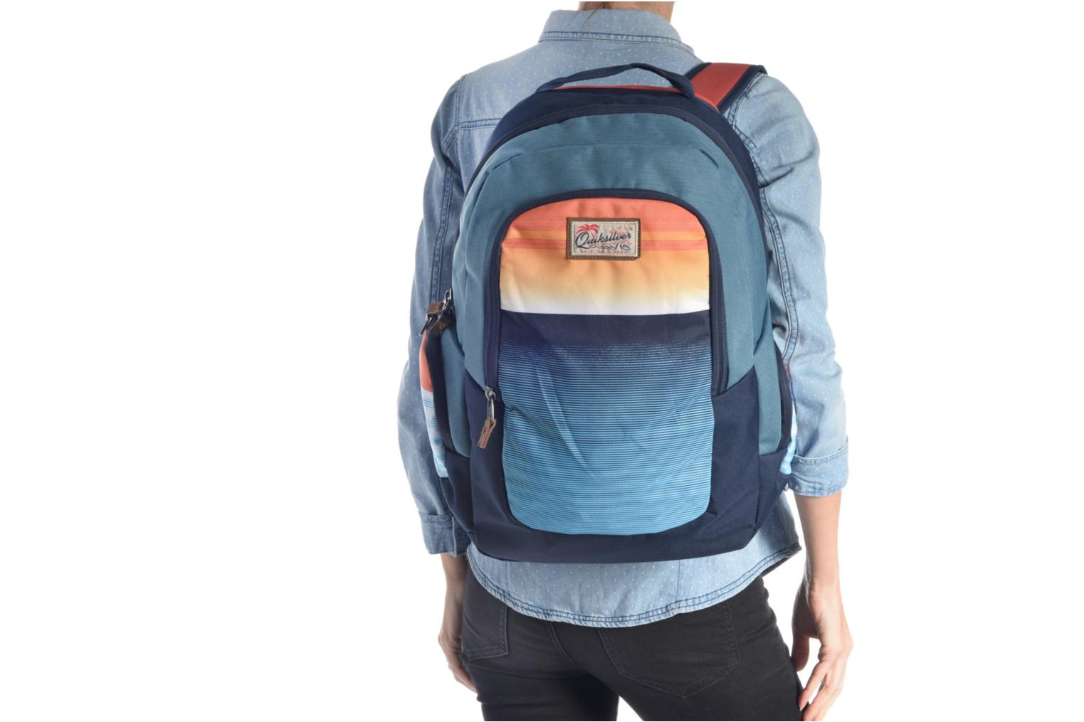 Rucksacks Quiksilver Schoolie M Backpack Multicolor view from above