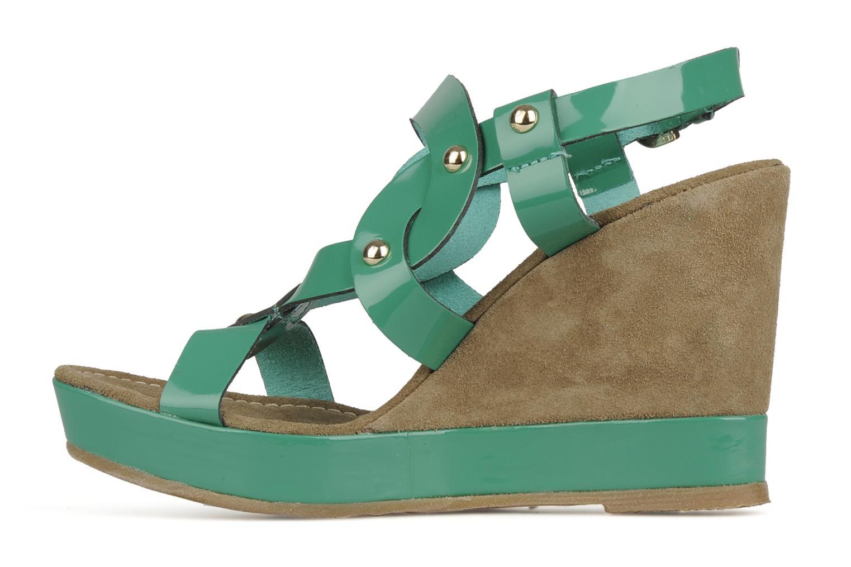 Sandalen Georgia Rose Azula Groen voorkant