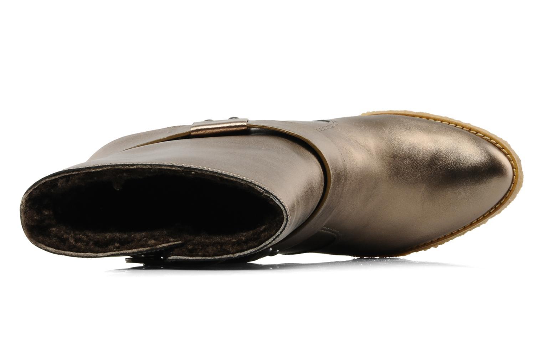 Bottines et boots Belle Tahira Or et bronze vue gauche