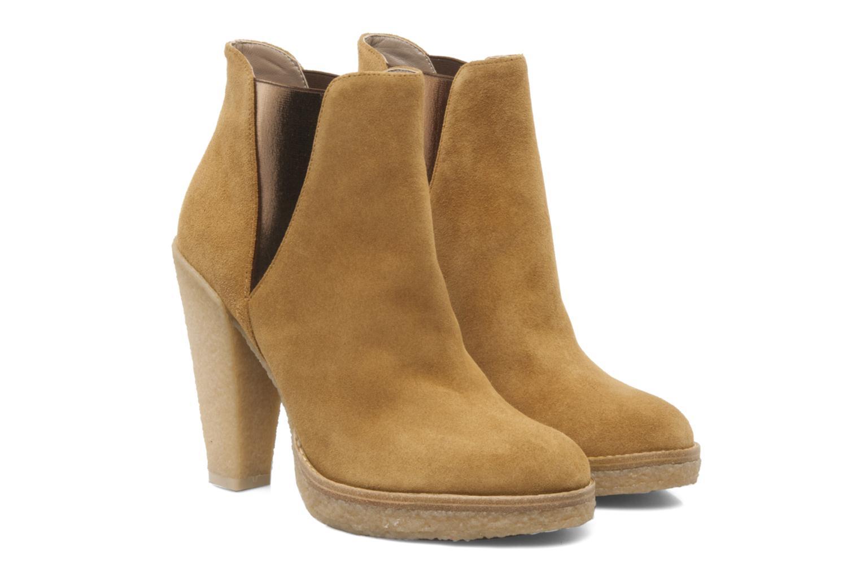 Bottines et boots Belle Tanja Marron vue 3/4