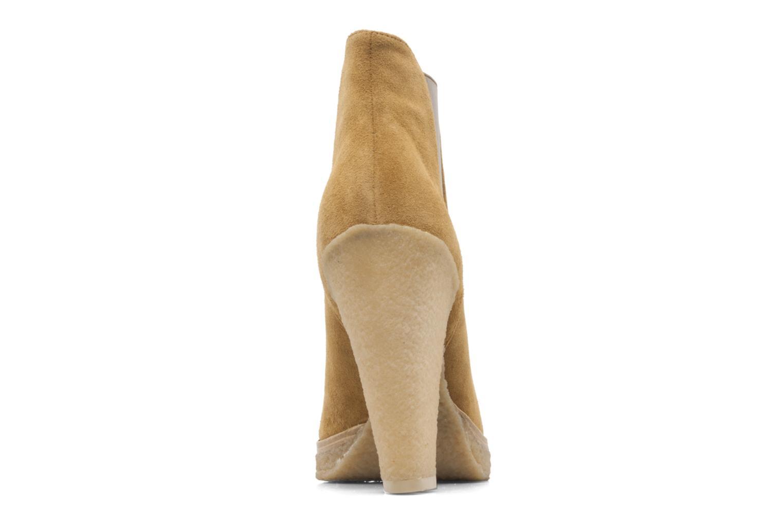 Bottines et boots Belle Tanja Marron vue droite