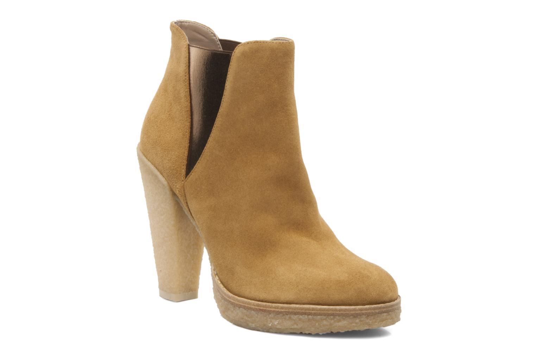 Bottines et boots Belle Tanja Marron vue détail/paire