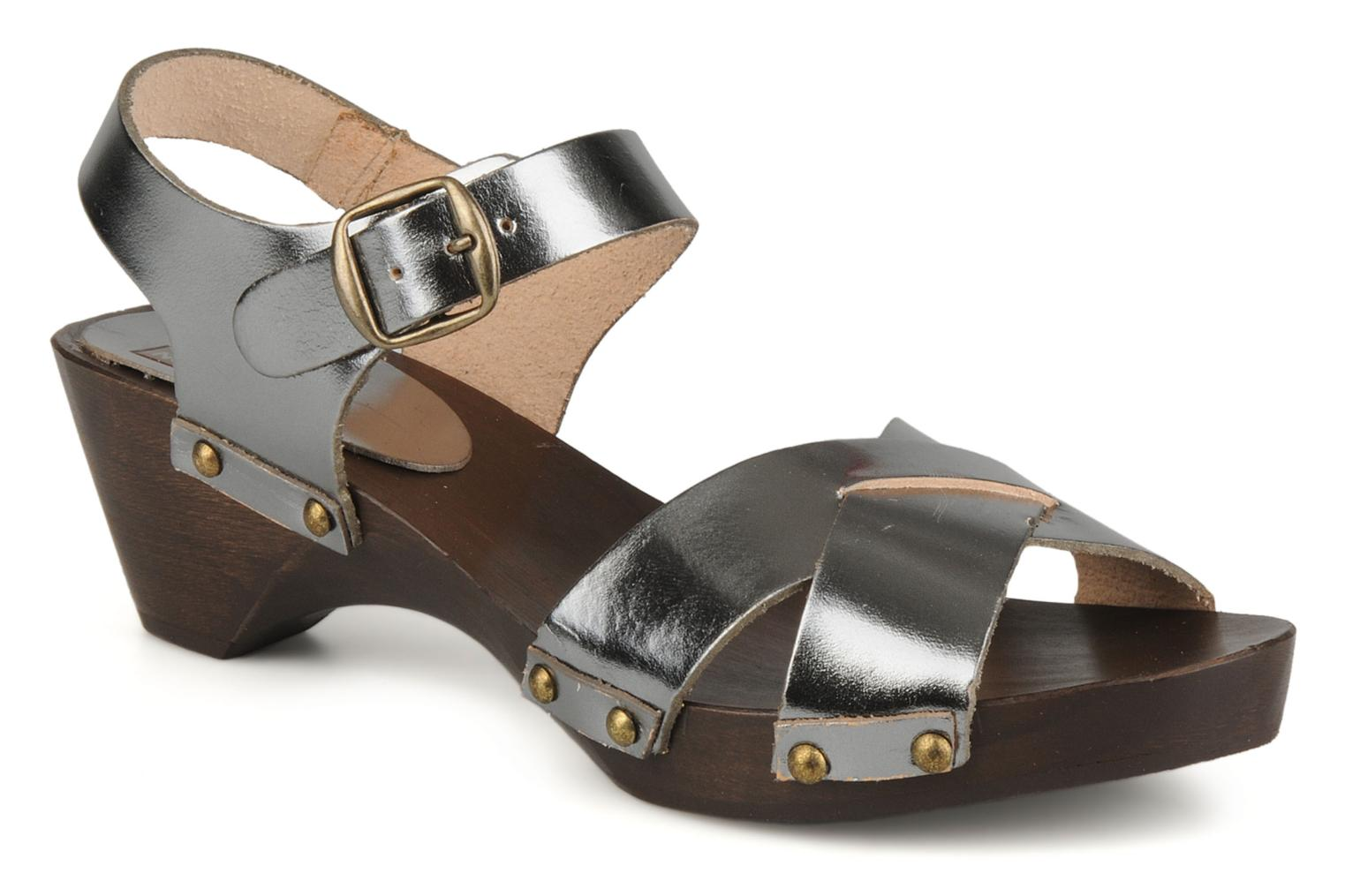 Sandals Bensimon Sandales exclu Silver detailed view/ Pair view