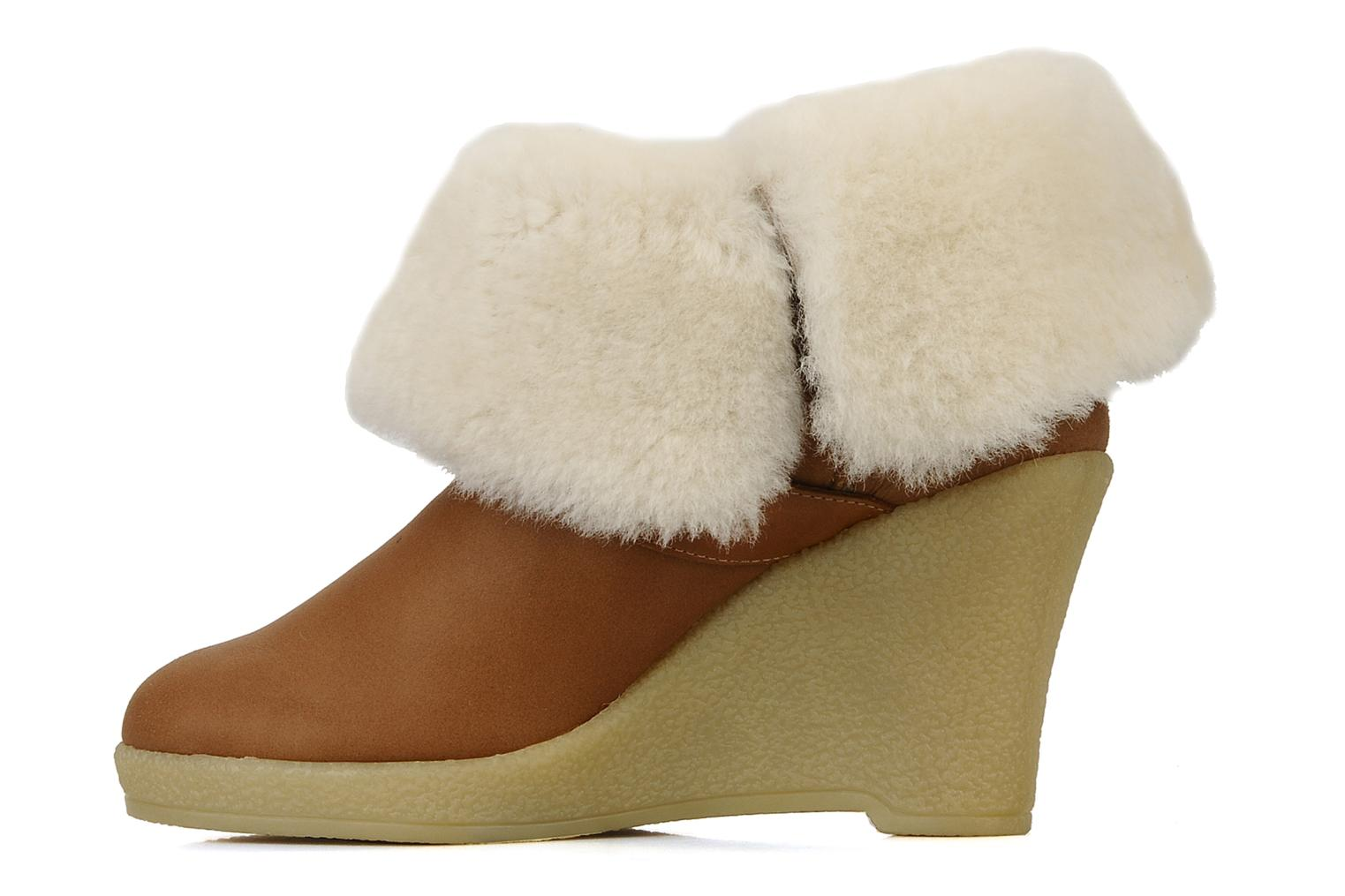 Ankle boots Mellow Yellow Kalisson Brown front view