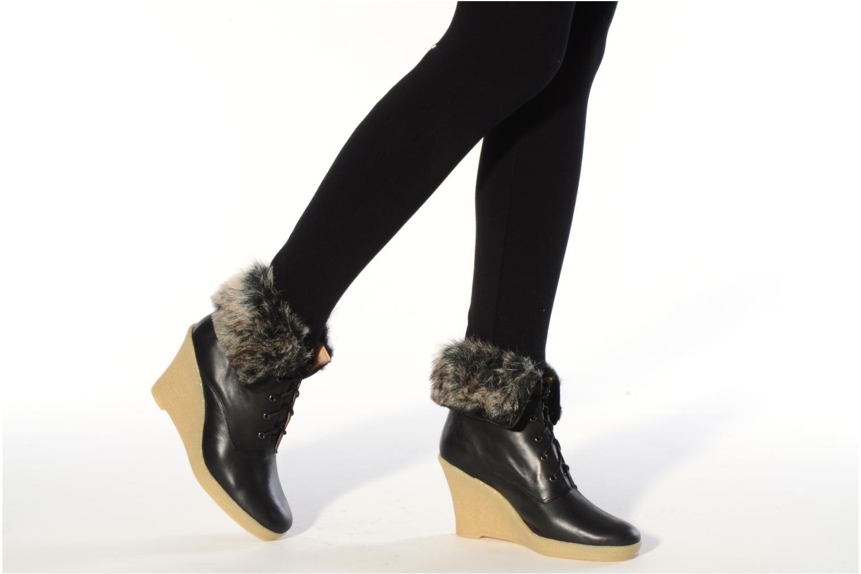 Stiefeletten & Boots Mellow Yellow Kafka schwarz ansicht von unten / tasche getragen