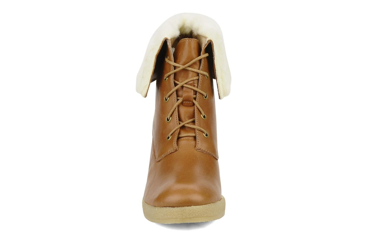 Ankle boots Mellow Yellow Kafka Brown model view