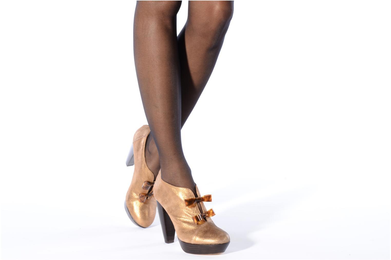 Bottines et boots Mellow Yellow Kanada Or et bronze vue bas / vue portée sac