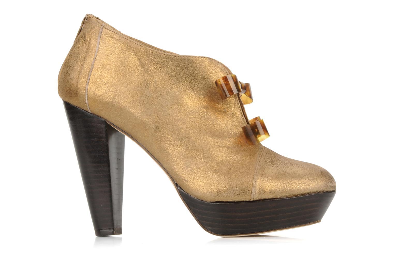 Bottines et boots Mellow Yellow Kanada Or et bronze vue derrière