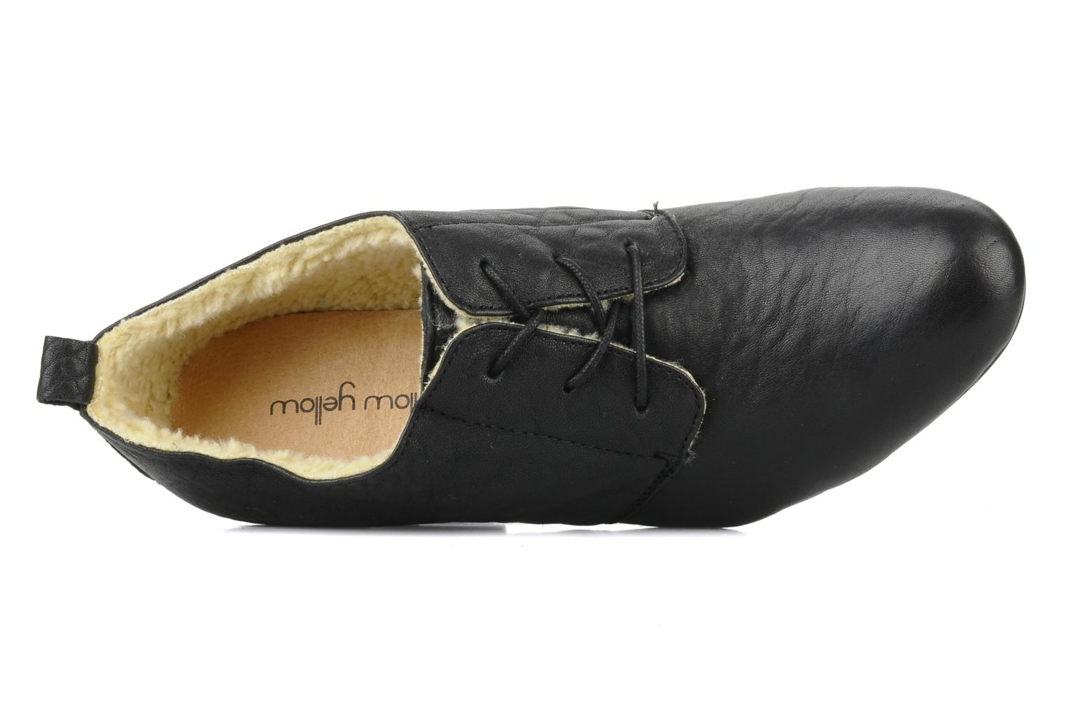 Lace-up shoes Mellow Yellow Kony Black view from the left