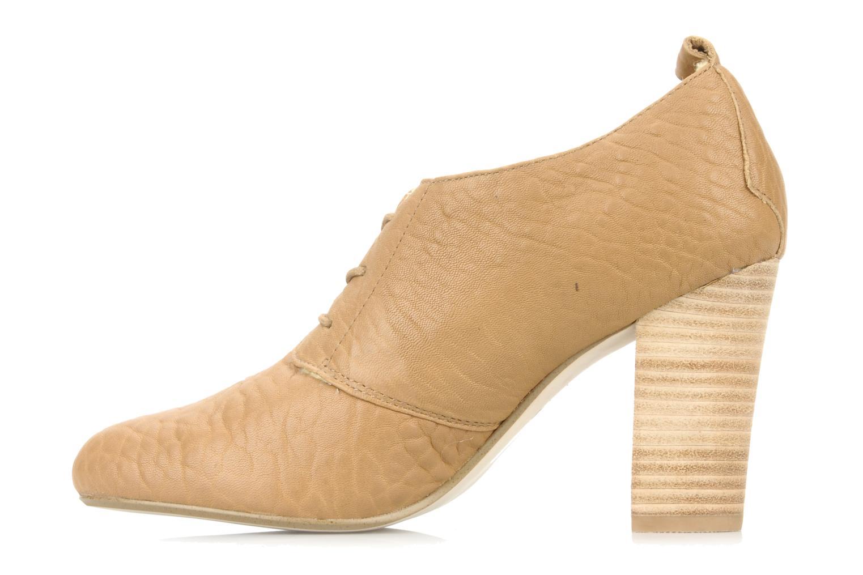 Zapatos con cordones Mellow Yellow Kony Beige vista de frente