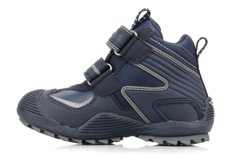 Sneakers Geox B savage wp b Azzurro immagine frontale
