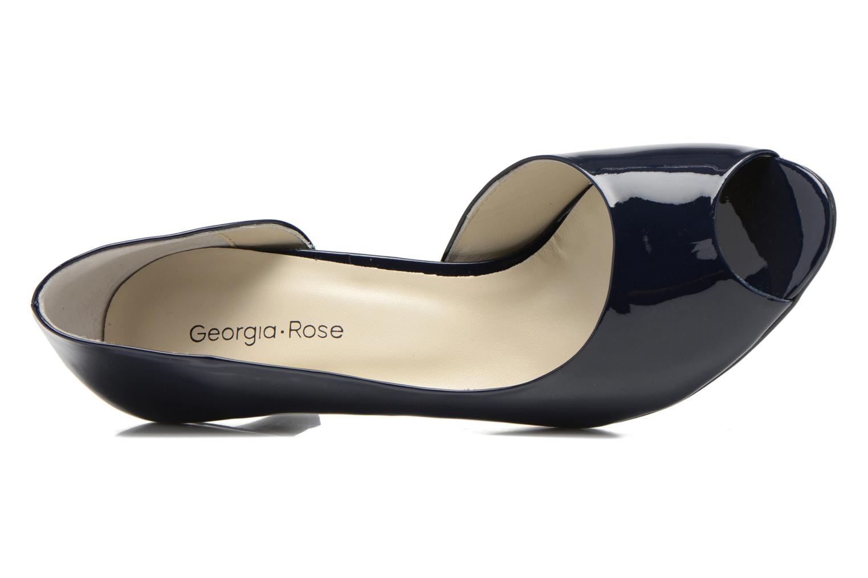 Zapatos de tacón Georgia Rose Alige Azul vista lateral izquierda
