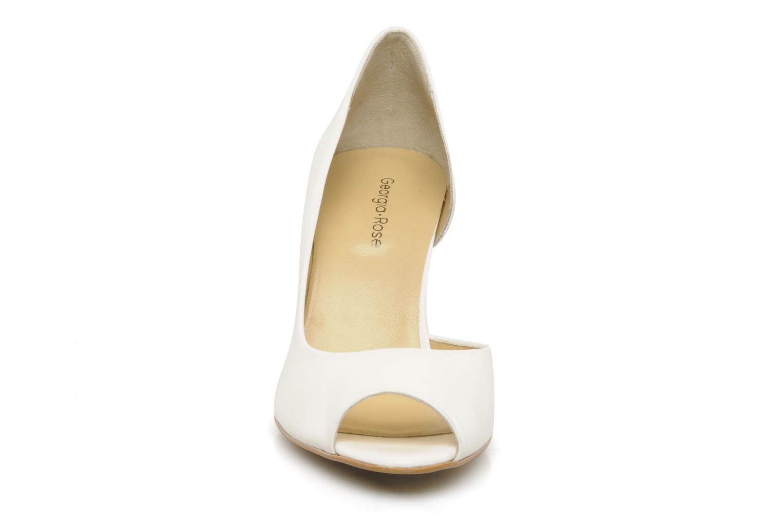 Zapatos de tacón Georgia Rose Alige Blanco vista del modelo