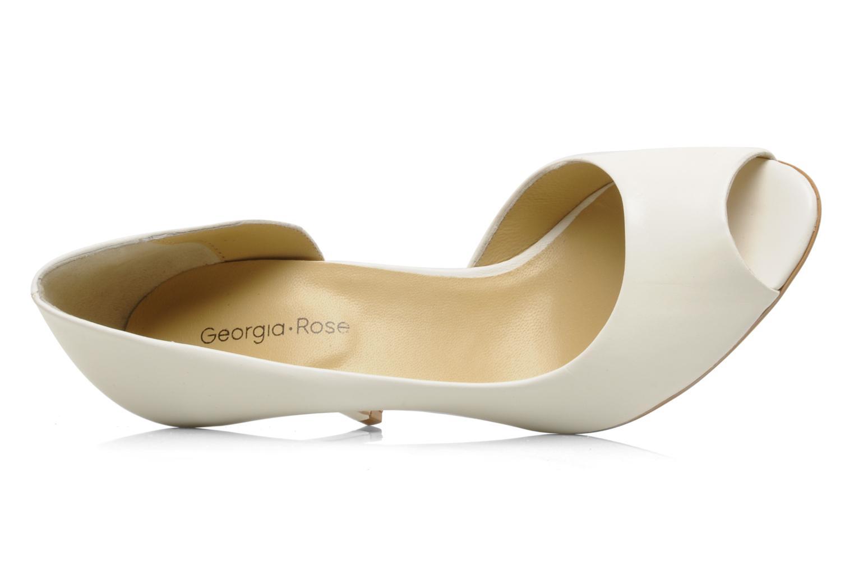 Zapatos de tacón Georgia Rose Alige Blanco vista lateral izquierda