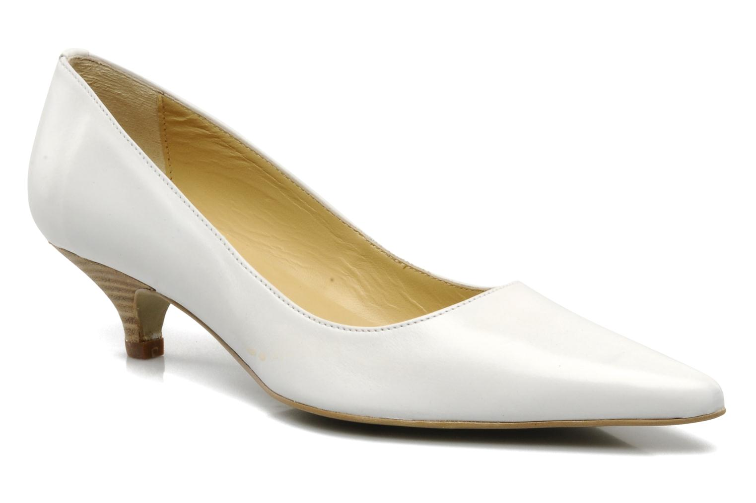 High heels Georgia Rose Amisi White detailed view/ Pair view