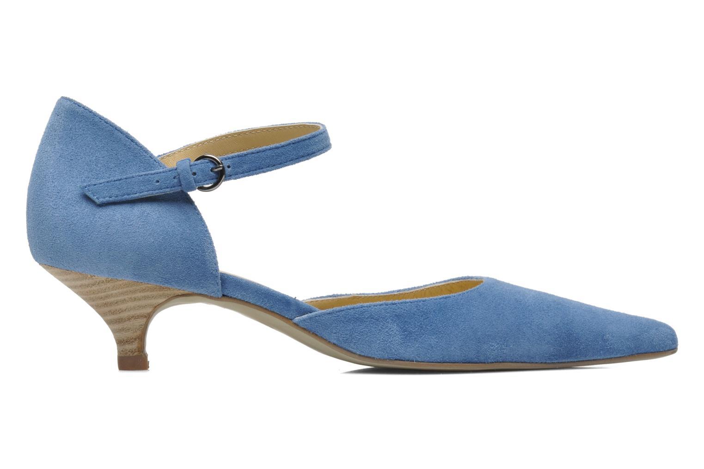 Pumps Georgia Rose Mioli Blauw achterkant