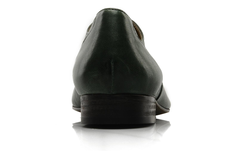 Chaussures à lacets Georgia Rose Messia Vert vue droite