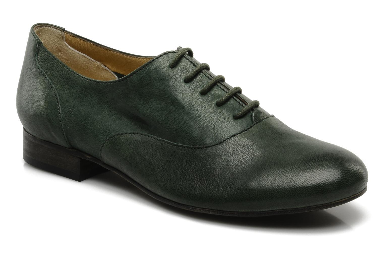 Chaussures à lacets Georgia Rose Messia Vert vue détail/paire