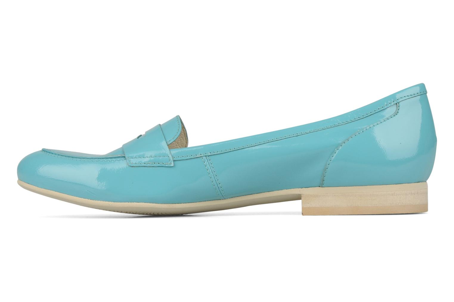 Mocassins Georgia Rose Afuro Bleu vue face