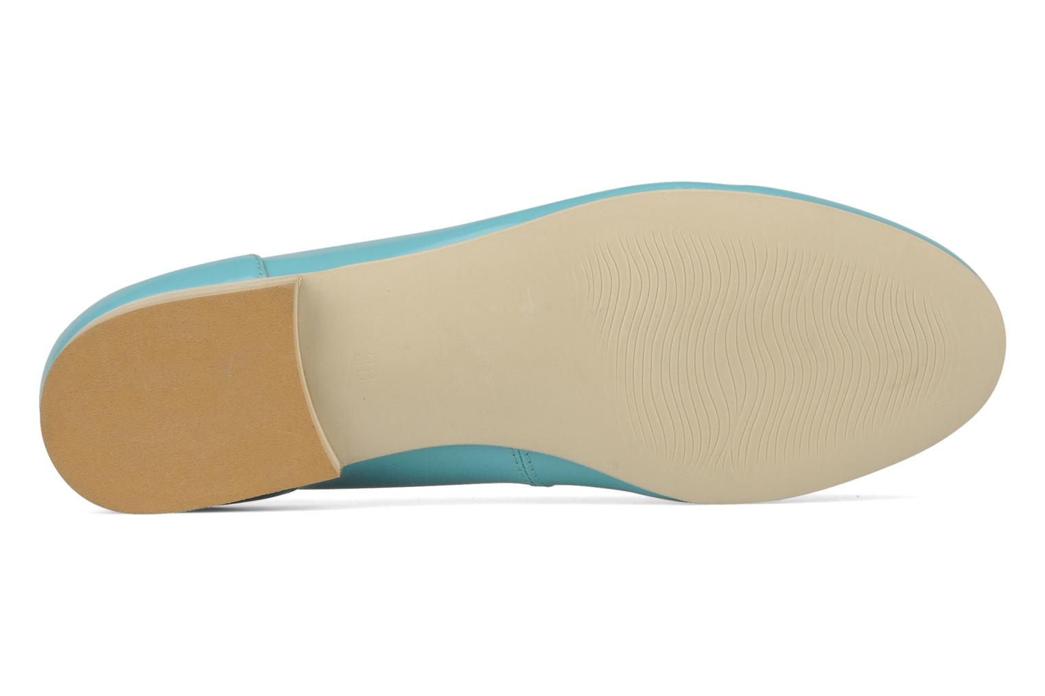 Loafers Georgia Rose Afuro Blue view from above