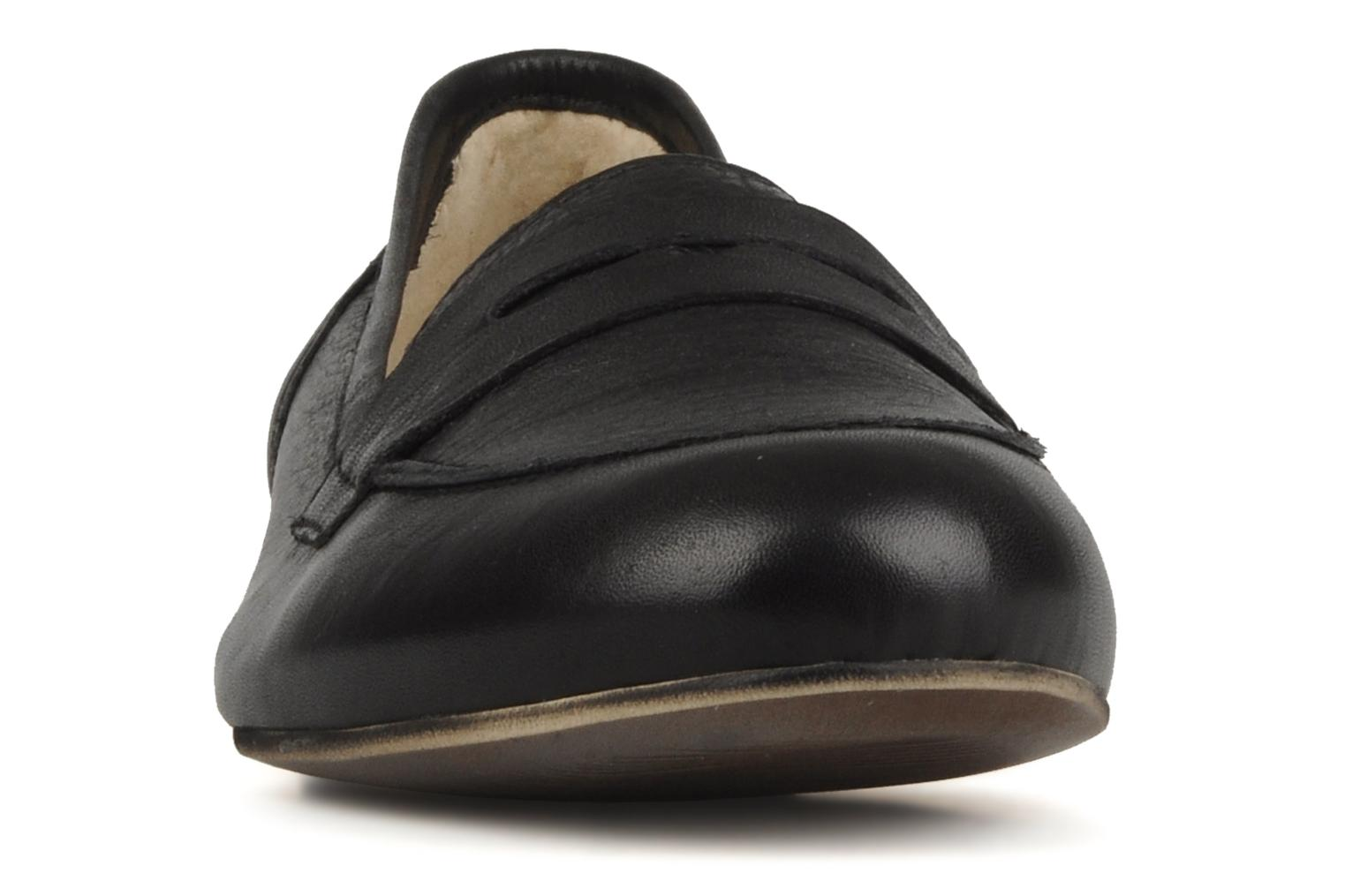 Loafers Georgia Rose Afuro Black model view