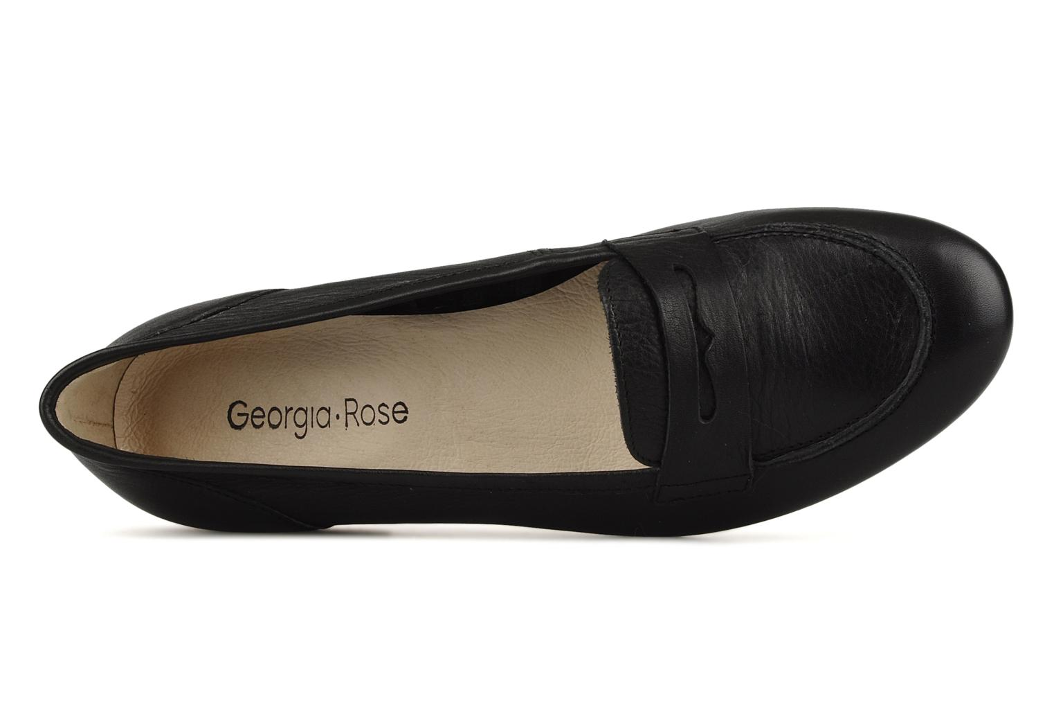 Loafers Georgia Rose Afuro Black view from the left