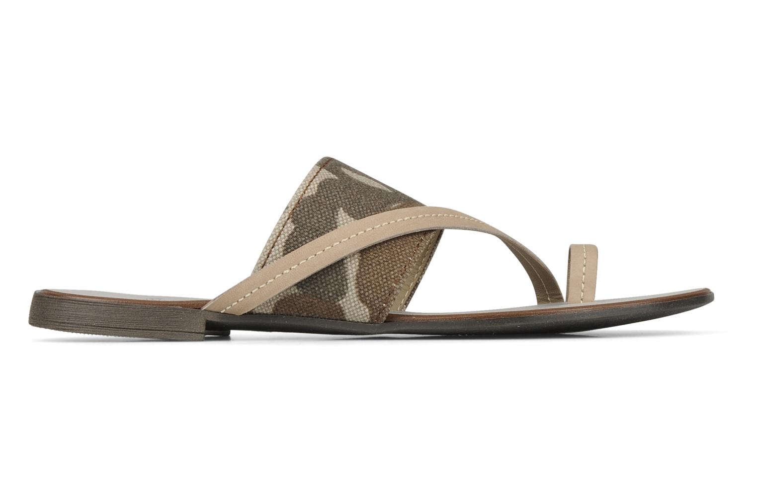 Sandals Eden Tanza Green back view