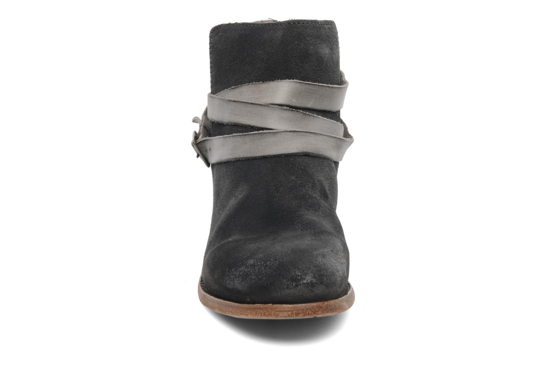 Bottines et boots H By Hudson Horrigan Gris vue portées chaussures
