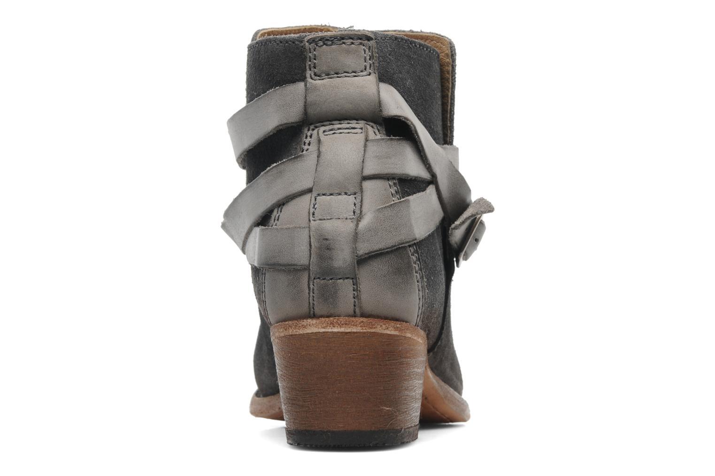 Bottines et boots H By Hudson Horrigan Gris vue droite