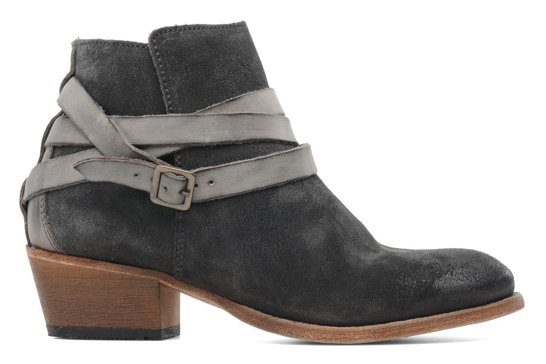 Bottines et boots H By Hudson Horrigan Gris vue derrière