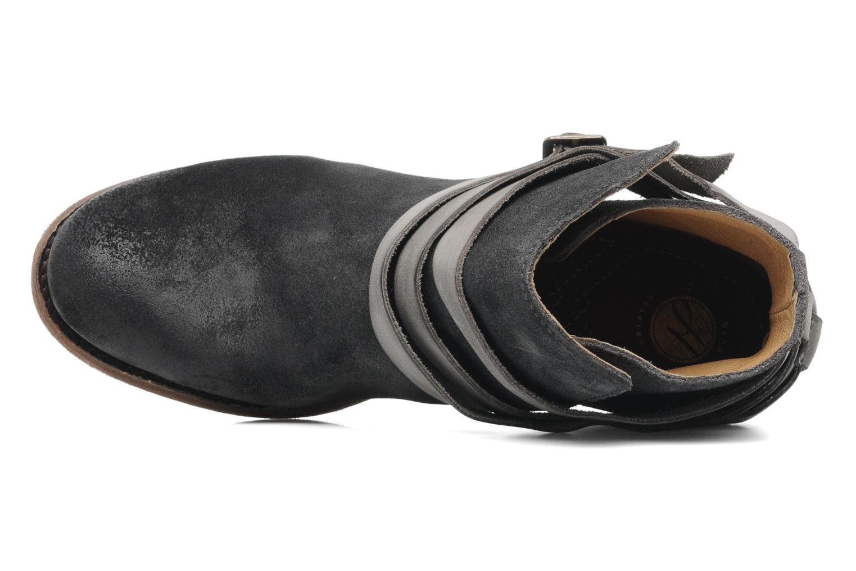 Bottines et boots H By Hudson Horrigan Gris vue gauche