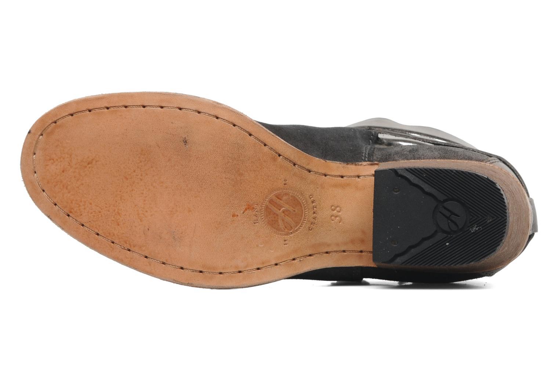 Bottines et boots H By Hudson Horrigan Gris vue haut