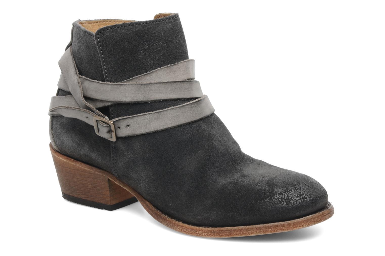 Bottines et boots H By Hudson Horrigan Gris vue détail/paire