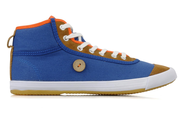 Baskets Faguo Teak w Bleu vue derrière