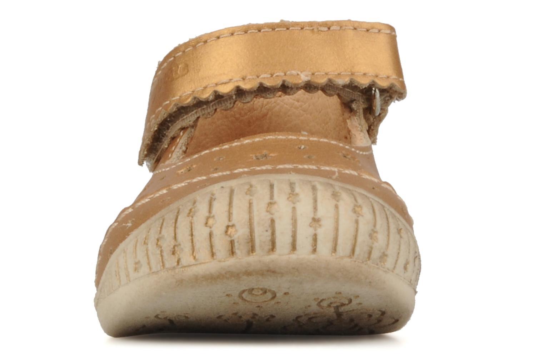 Stiefeletten & Boots Babybotte Stars gold/bronze schuhe getragen