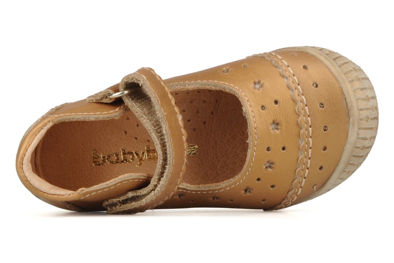 Stiefeletten & Boots Babybotte Stars gold/bronze ansicht von links