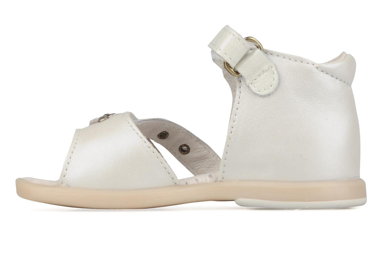 Sandalen Babybotte Toupy Wit voorkant