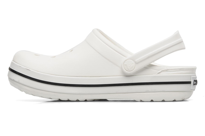 Sandales et nu-pieds Crocs Crocband kids Blanc vue face