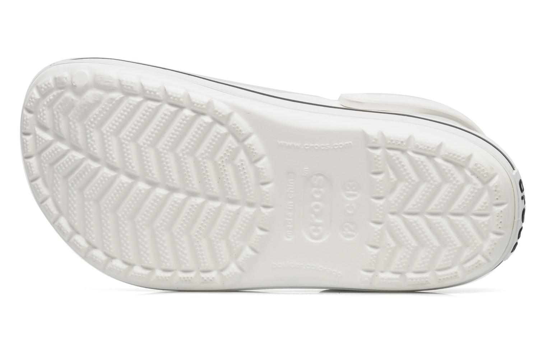 Sandales et nu-pieds Crocs Crocband kids Blanc vue haut
