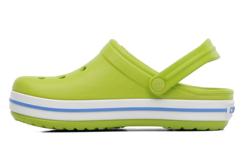 Sandalen Crocs Crocband kids grün ansicht von vorne