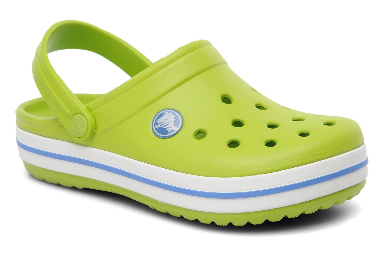 Sandalen Crocs Crocband kids grün detaillierte ansicht/modell