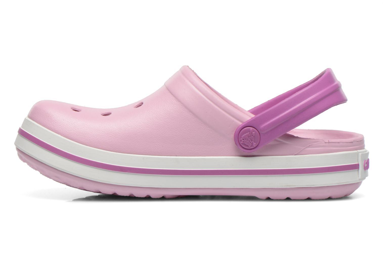 Sandalen Crocs Crocband kids blau ansicht von vorne