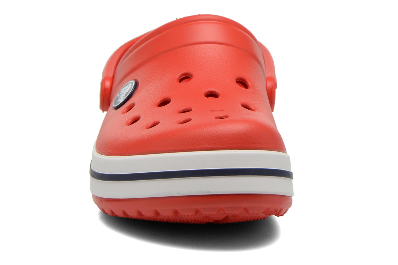 Sandals Crocs Crocband kids Red model view