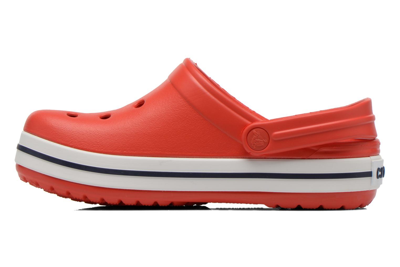 Sandalen Crocs Crocband kids rot ansicht von vorne