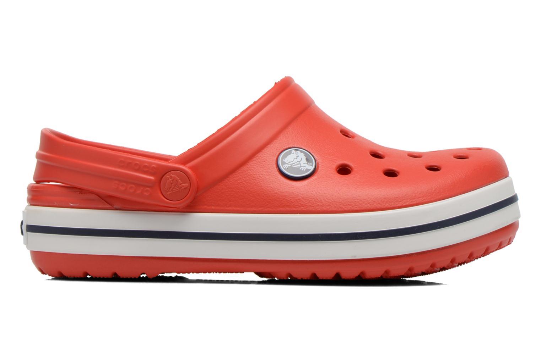 Sandals Crocs Crocband kids Red back view