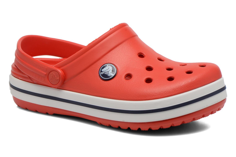 Sandaler Crocs Crocband kids Rød detaljeret billede af skoene