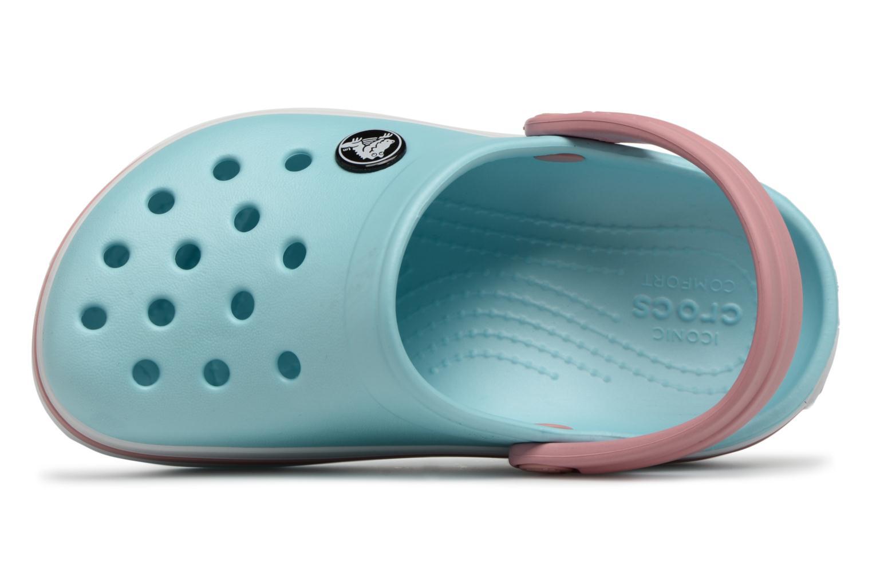 Sandaler Crocs Crocband kids Blå bild från vänster sidan